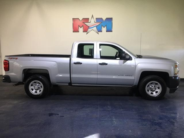Pre-Owned 2017 Chevrolet Silverado 1500 4WD Double Cab 143.5 Work Truck