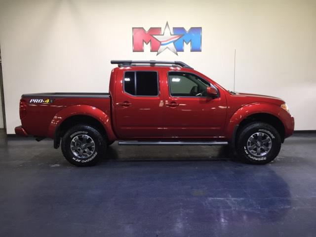 Pre Owned 2017 Nissan Frontier Crew Cab 4x4 Pro 4x Auto Crew Cab