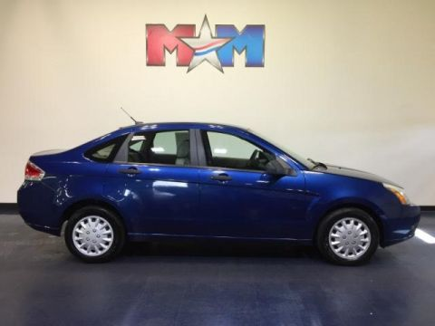 Pre-Owned 2008 Ford Focus 4dr Sdn S