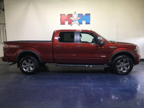Pre-Owned 2014 Ford F-150 4WD SuperCrew 145 FX4