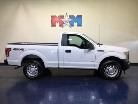 Pre-Owned 2017 Ford F-150 XL 4WD Reg Cab 6.5' Box
