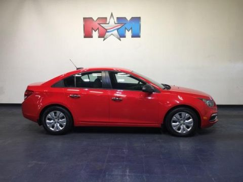 Pre-Owned 2016 Chevrolet Cruze 4dr Sdn Auto LS