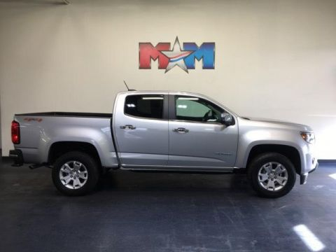 Pre-Owned 2015 Chevrolet Colorado 4WD Crew Cab 128.3 LT