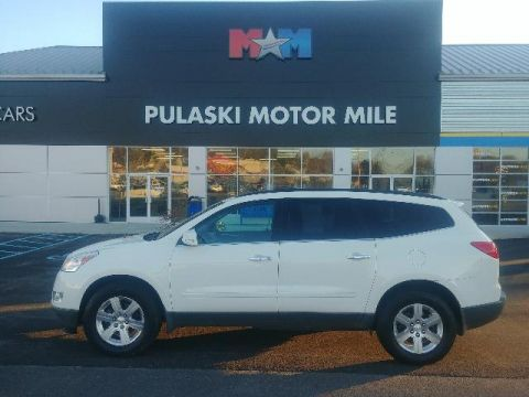 Pre-Owned 2012 Chevrolet Traverse AWD 4dr LT w/2LT