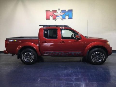 Pre-Owned 2017 Nissan Frontier Crew Cab 4x4 PRO-4X Auto