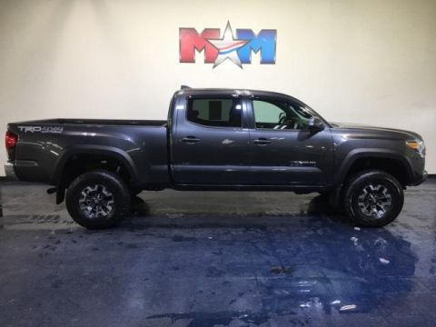 Pre-Owned 2018 Toyota Tacoma TRD Off Road Double Cab 6' Bed V6 4